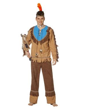 Pánský kostým klasický indián