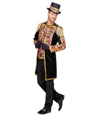Jachetă de îmblânzitor neagră pentru bărbat