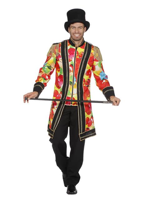 Casaco de domador multicolor para homem