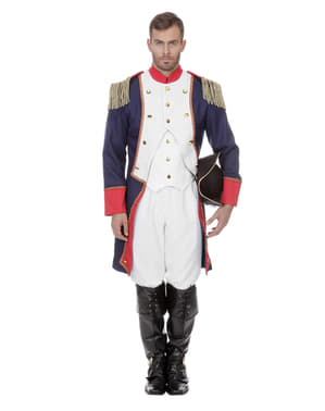 Pánský kostým Napoleon modrý