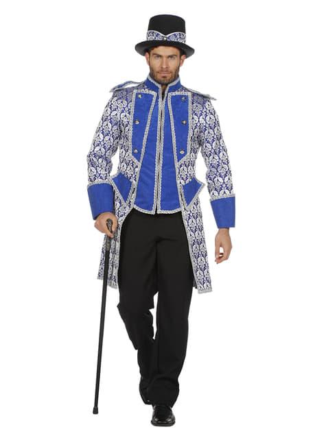 Blue tamer jacket for men