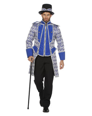 Casaco de domador azul para homem