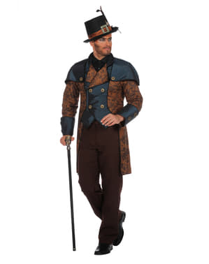Pánský kostým steampunkový modrý