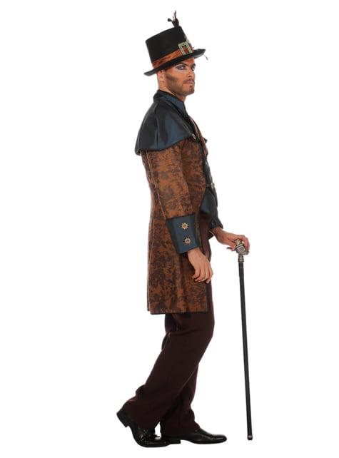 Disfraz de steampunk azul para hombre - hombre