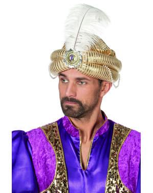 Turbante da sceicco arabo per uomo