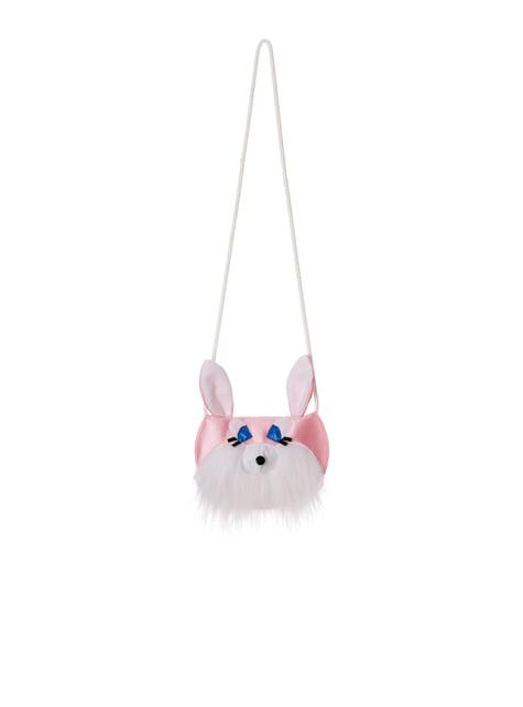 Pink kanin taske