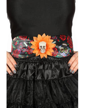 Day of the Dead belt for adults