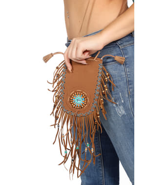 Deluxe brown indian bag