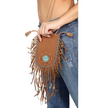 Deluxe Brun indianer bag