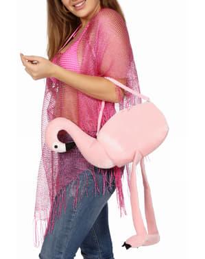 Bolso de flamenco rosa