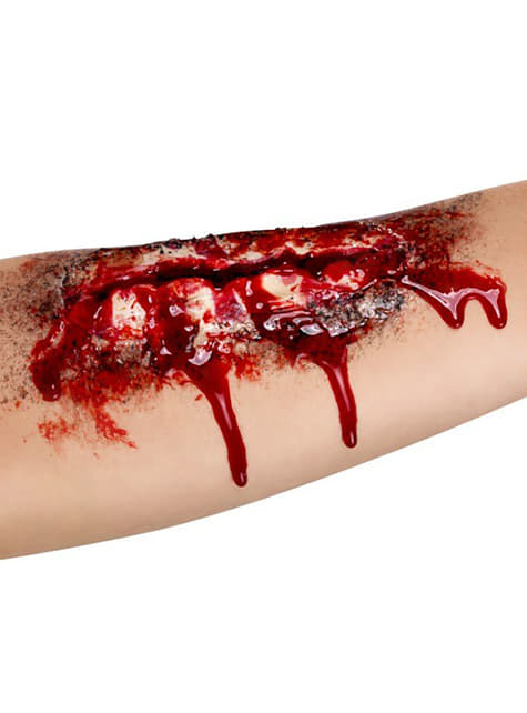 Βαθιά ανοιχτή πληγή
