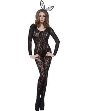 Body merletto nero Deluxe