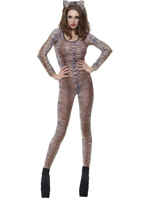 Přiléhavý oblek tygr