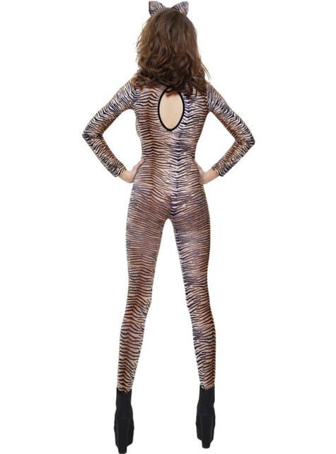 Body de estampado de tigre - para tu disfraz