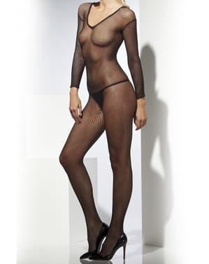 Sexy zwart pakje