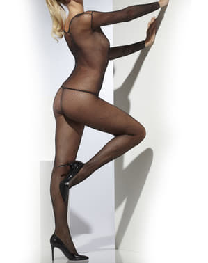 Basic black body stocking