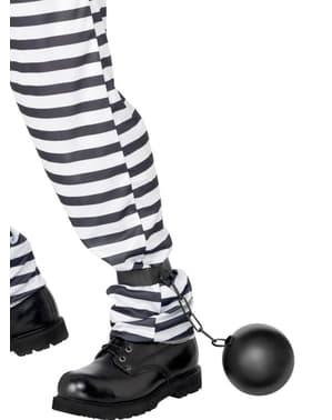 Топка и верига затворник