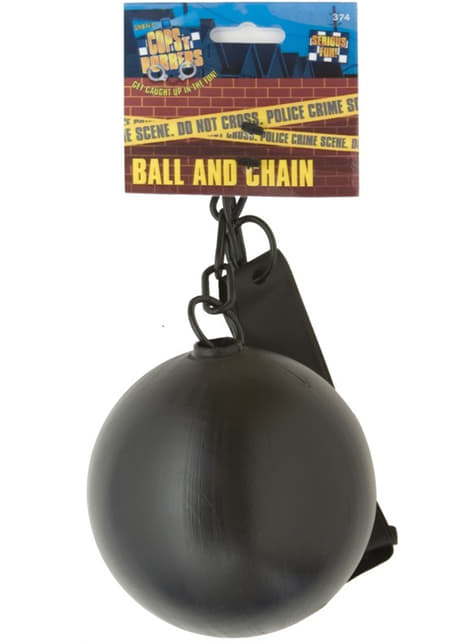Bola e corrente de preso