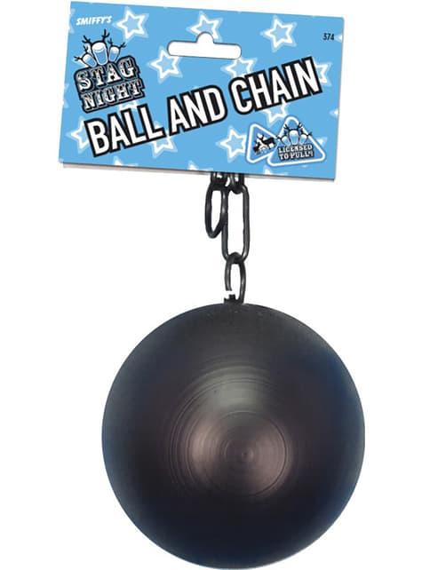 Bal met ketting