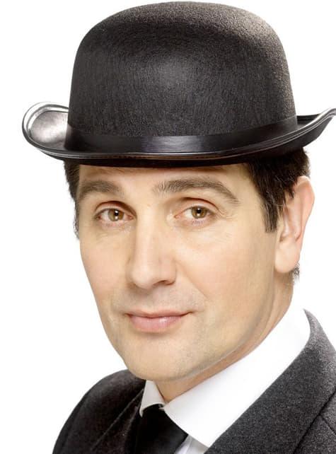 Μαύρο καπέλο μπόουλινγκ