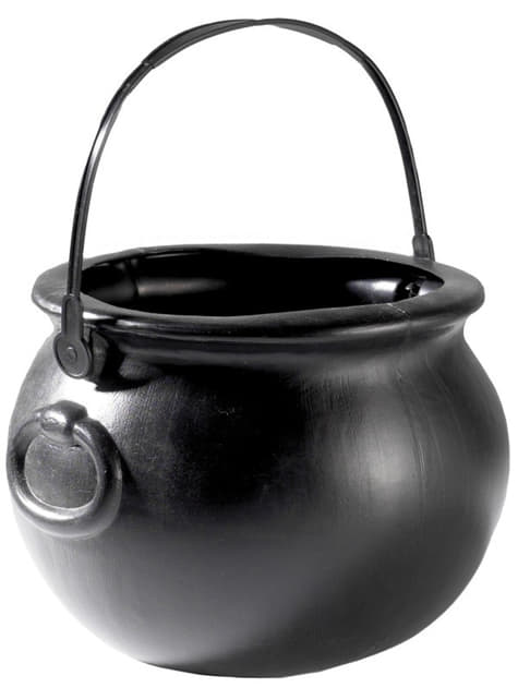 Classic witch cauldron