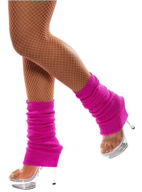 Návleky na nohy růžové