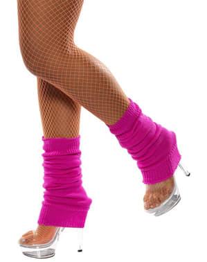 Ružičaste grijačice za noge