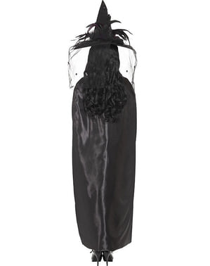 Black Witches Cape for Adults