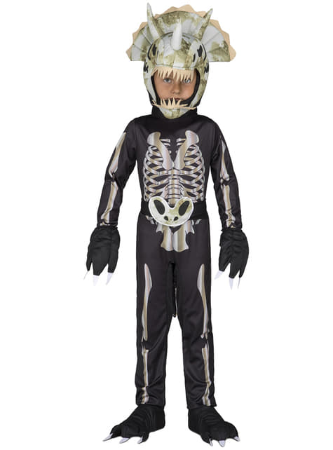 Dinosaur skeleton costume for boys