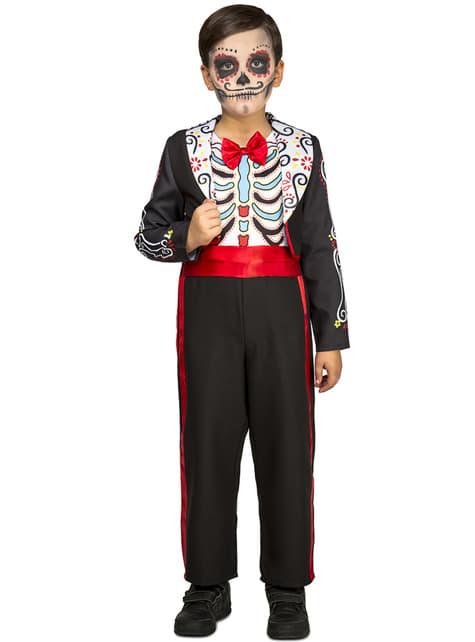 Disfraz de Día de los Muertos para niño