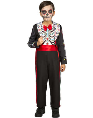Day of the Dead kostume til drenge