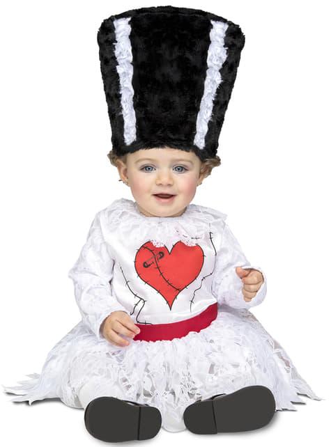 Disfraz de novia de monstruo Frankie para bebé