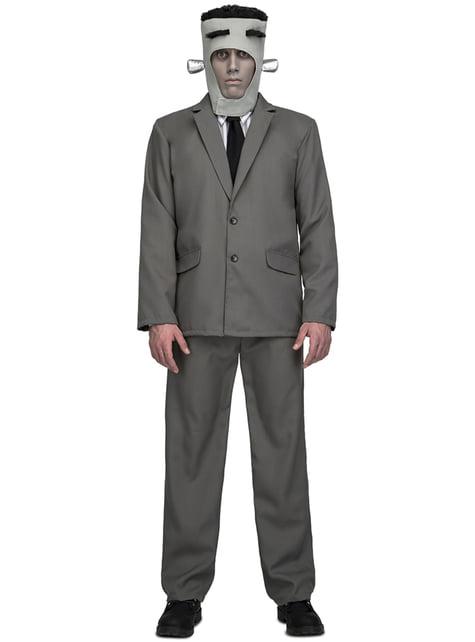 Disfraz de monstruo Frankie para hombre