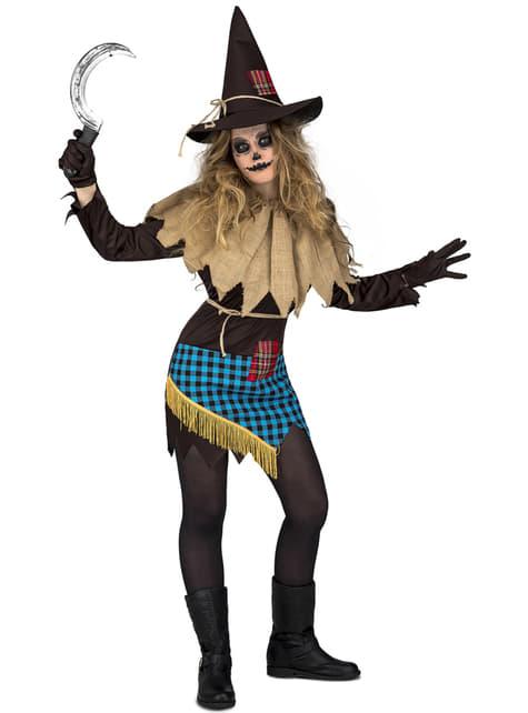 Vogelverschrikker kostuum voor vrouw