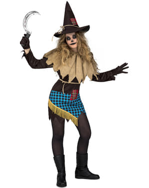 Dámský kostým strašák