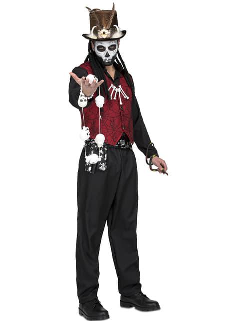 Voodoo master costume for men