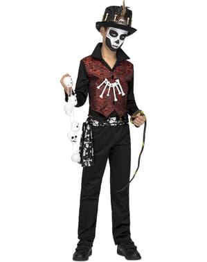 Costum de maestru voodoo pentru băiat