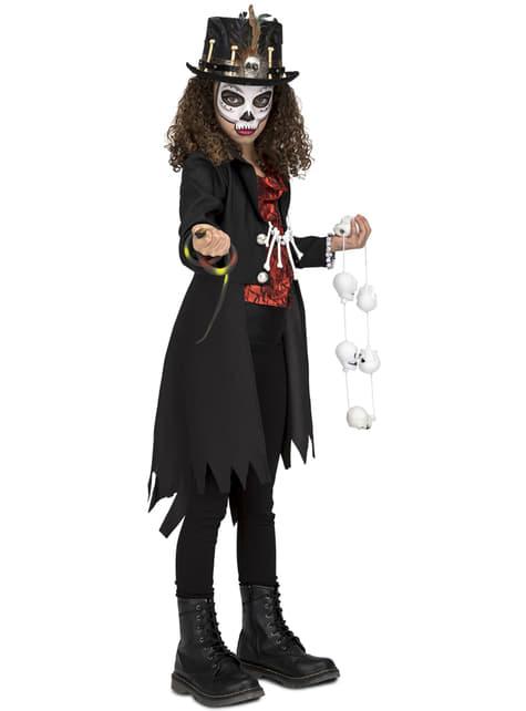 Strój mistrza Voodoo dla dziewczynek