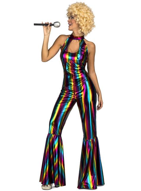 Disfraz disco años 70 para mujer