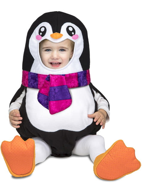 Disfraz de pingüino deluxe para bebé