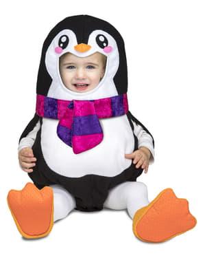 Maskeraddräkt pingvin deluxe för bebis