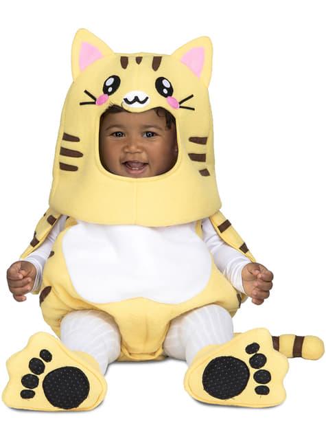 Bebekler için lüks kedi kostümü