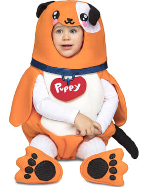 Deluxe puppy costume for babies