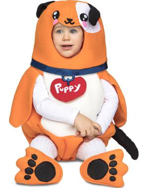 Deluxe puppy kostuum voor baby's