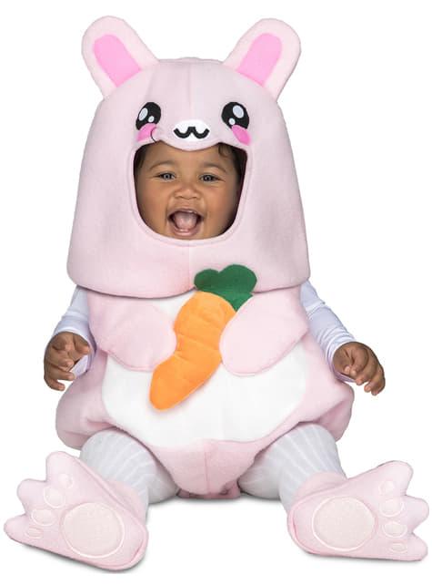 Fato de coelhinho deluxe para bebé