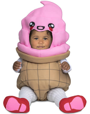 Deluxe ice cream costume for babies