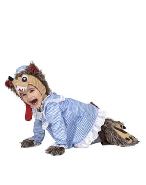 Kostium Zły Wilk dla niemowląt