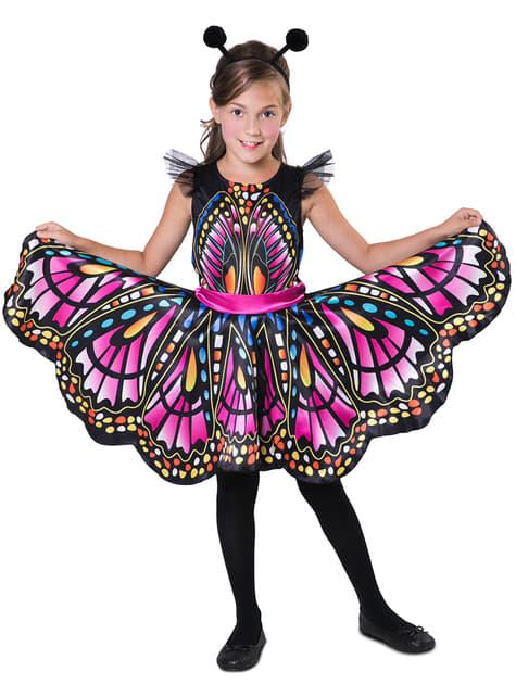 Disfraz de princesa mariposa para niña