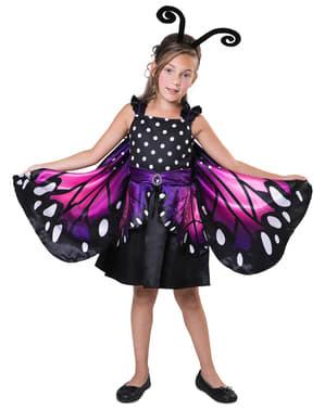 Fato de borboleta pequena para menina