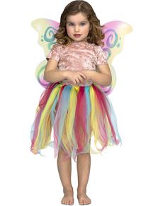 Kit de unicornio arcoíris para niña